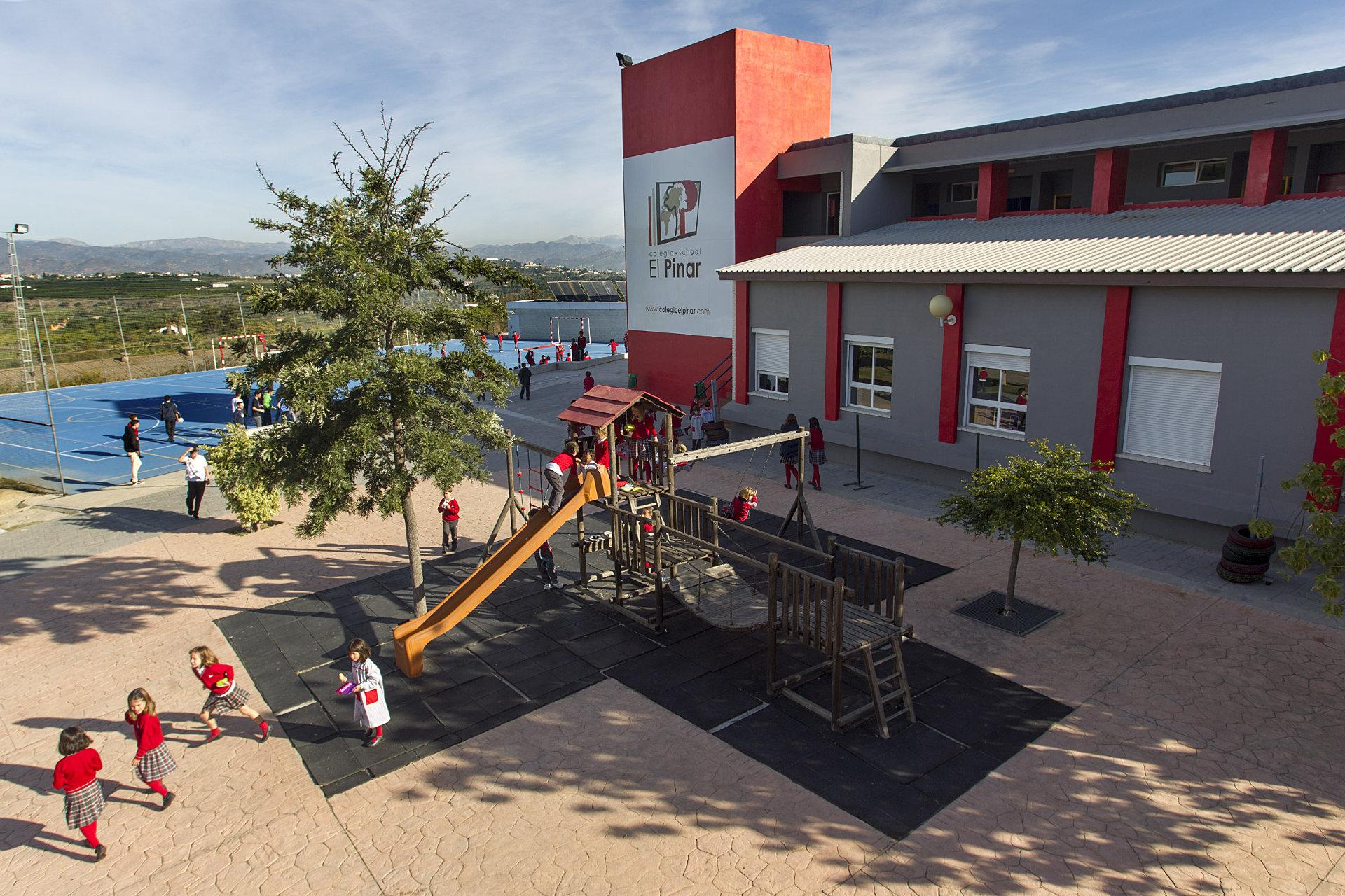 El colegio El Pinar