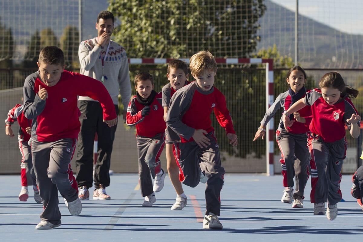 Actividades deportivas en el Pinar