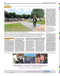 Premios Extraordinarios. Colegio El Pinar. Marta Palomo. Excelencia