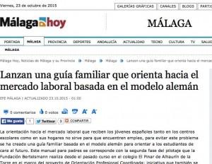 Málaga Hoy y Modelo de Orientación Coordinada El Pinar