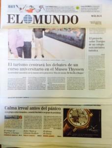 Torrijos y El Mundo y Colegio El Pinar