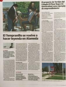 Colegio el Pinar y Diario Sur. Sur y Torrijos y colegio El Pinar. Torrijos y el Pinar y UMA
