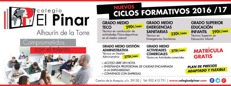 Formación profesional en Málaga
