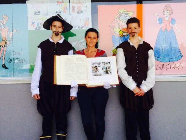 Semana del Libro: Dos genios y un colegio