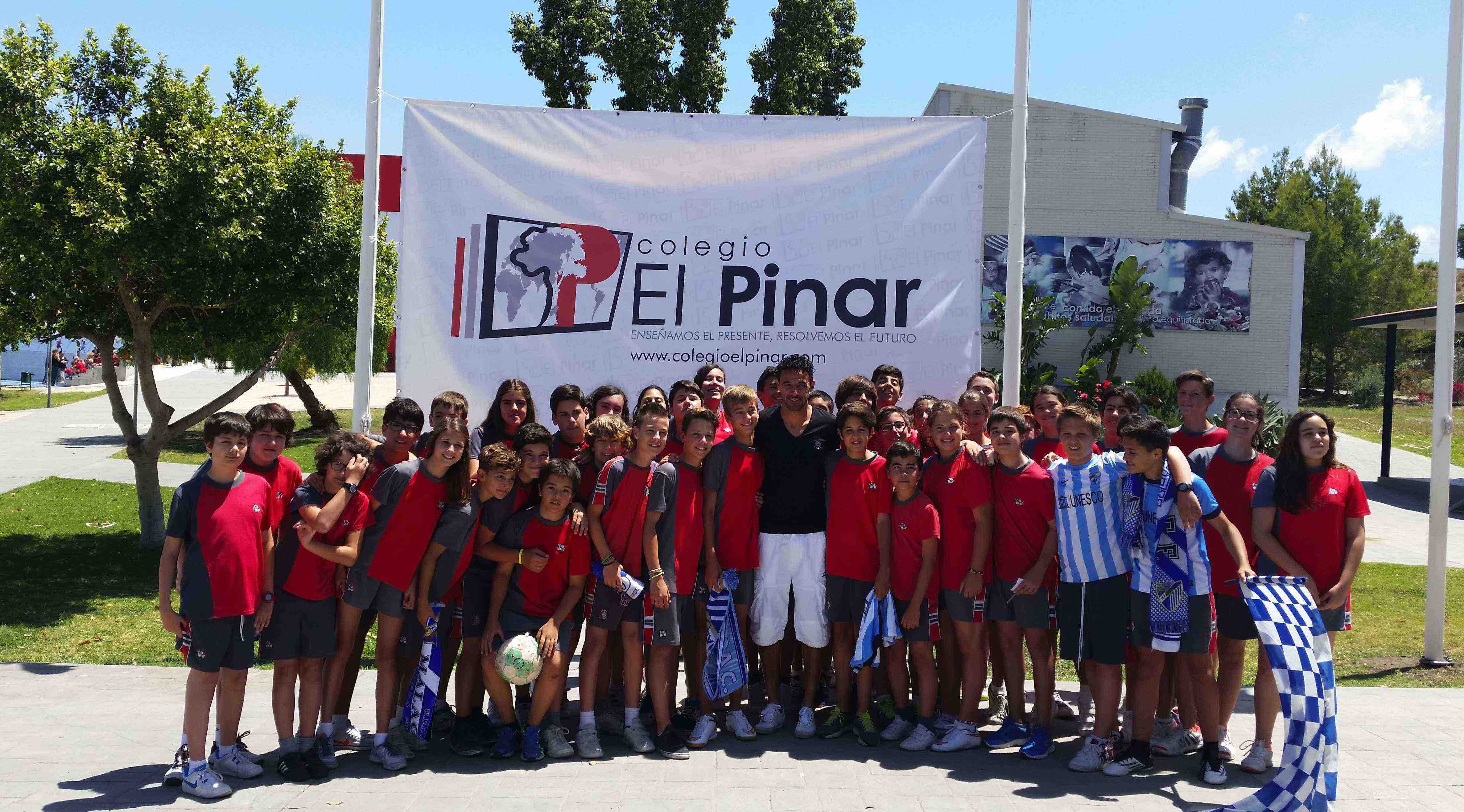 """Weligton, en El Pinar: """"No me importaría terminar mi carrera en el Málaga CF"""""""