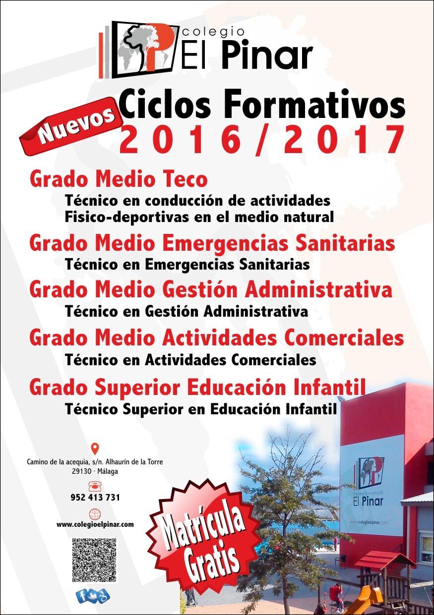 Ciclos Formativos Y Colegio Privado El Pinar Private
