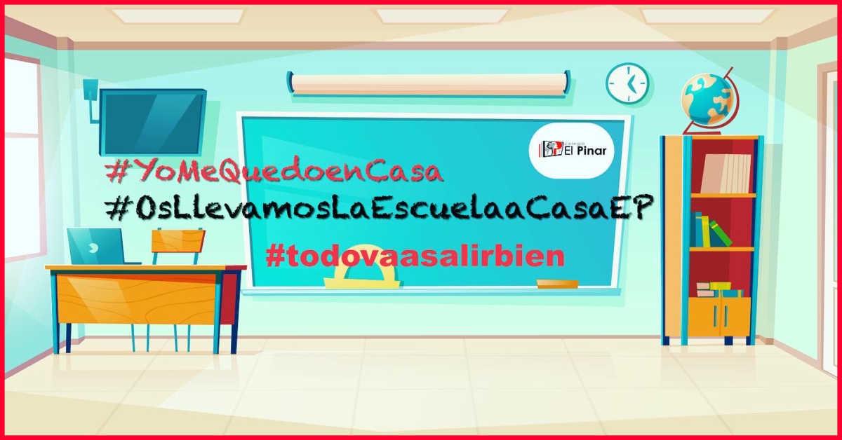 MEJOR EN CASA… TODO VA A SALIR BIEN!!